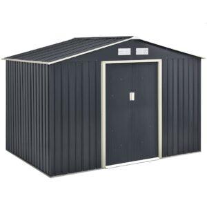 Juskys Metall Gerätehaus XL