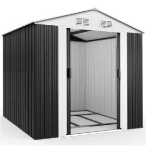 Deuba XXL Metall Gerätehaus 5m²