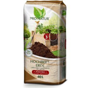 BIO Hochbeet-Erde ProNatur 40 Liter