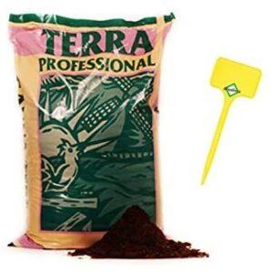 Weedness Canna Terra Professionell 50 Liter - Erde Blumenerde Grow Balkon-Pflanzen Pflanzerde Gartenerde Tomatenerde