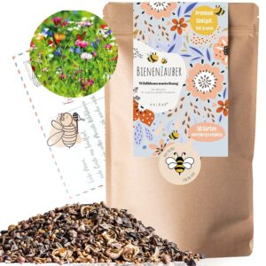Bienenwiese I 100g I 100m² Blumenwiese Samen mehrjährig und einjährig