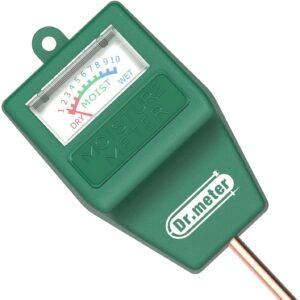 Bodentester Dr.meter Tester Feuchtigkeit des Bodens für Pflanzenerde, Gartenbau, Bauernhof, Rasenpflege, Keine Batterien Erforderlich