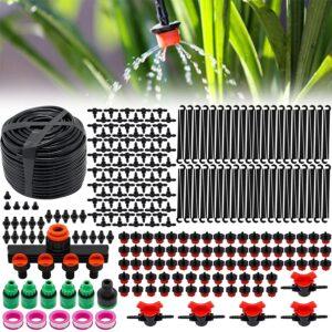 50M Bewässerungssystem Garten 282 PCS Mikro Drip Bewässerungssets Bewässerung Kit