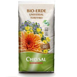 Chrysal Bio Erde Universal Torffrei - 20 Liter