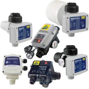 Pumpensteuerung Druckschalter Druckwächter Automatic-Controller Durchflusswächter unverkabelt