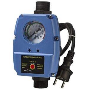 Pumpensteuerung Druckschalter mit Manometer Druckwächter einstelbar 6-2 Automatic-Controller Durchflusswächter verkabelt